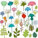 simple flowers by lisenok