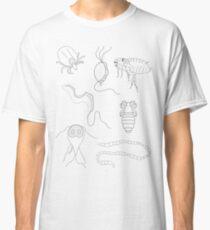 Parasites - black on white Classic T-Shirt