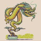 Bonsai Dragon by Kari Fry