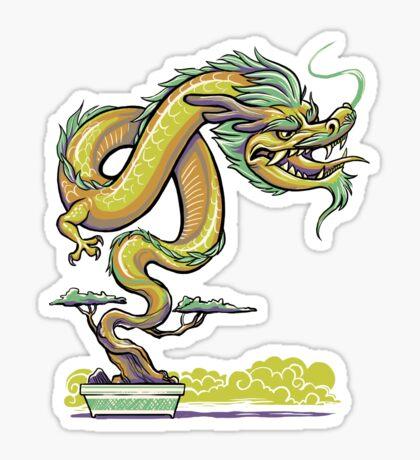 Bonsai Dragon Sticker