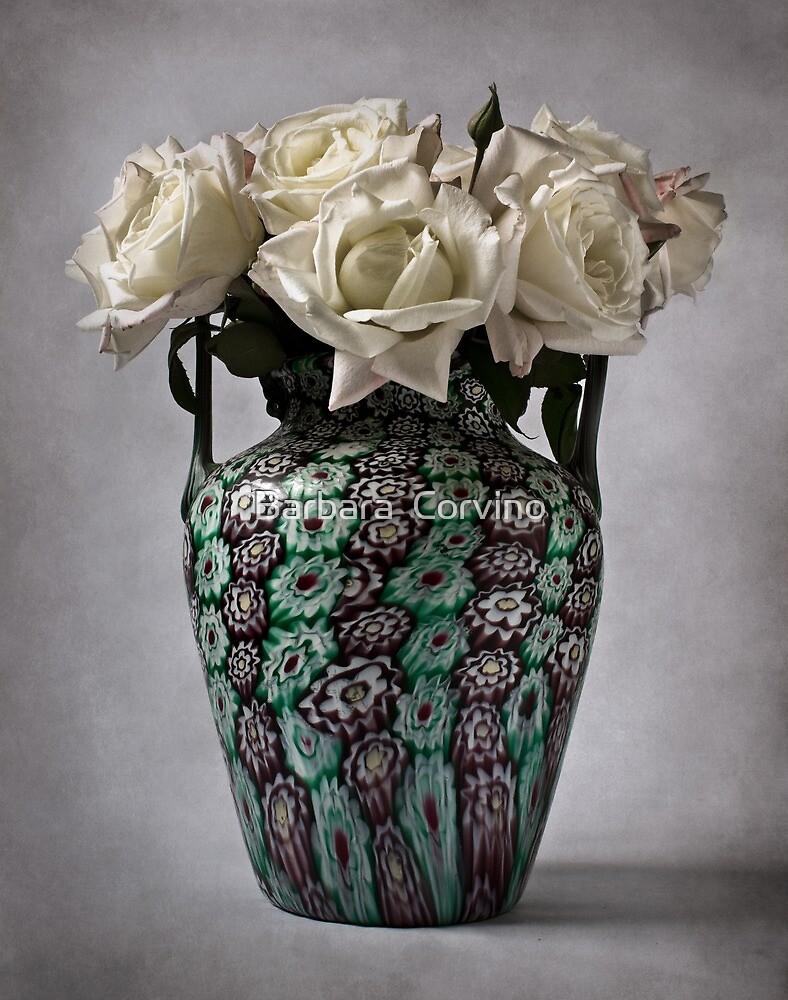 """Venetian """"murrine"""" vase by Barbara  Corvino"""