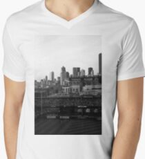 Safeco Field Black and White T-Shirt