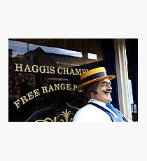 Haggis Champion Photographic Print
