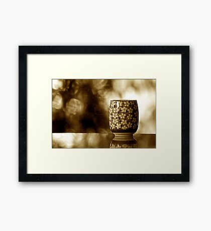 Green Tea Sir: Explore Featured Work Nov.2011; SOLD Feb, 2011: On 7 Featured Work Framed Print