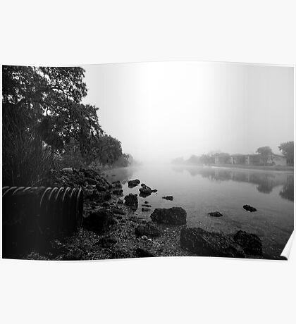 fog n fish Poster