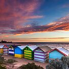 Beach Huts by John Dekker