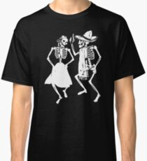Dancing Skeletons Skulls Classic T-Shirt