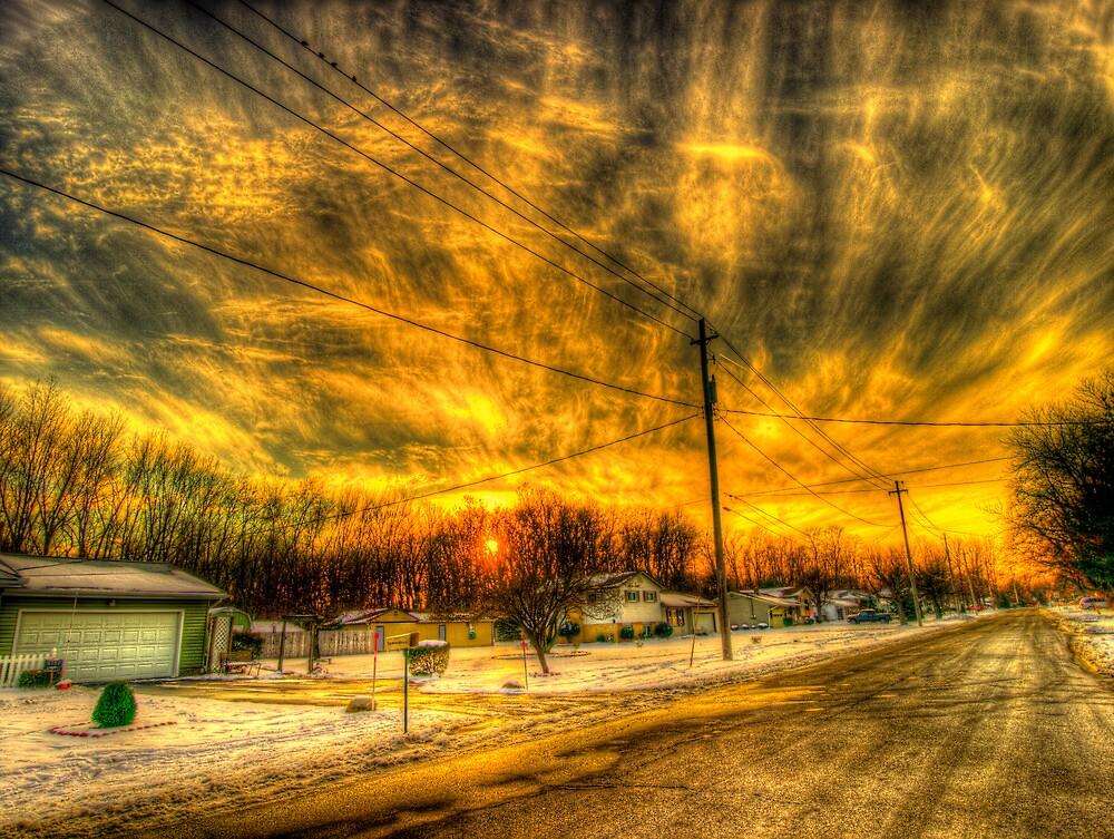 Sky Full Of Lava by Johnny Joo