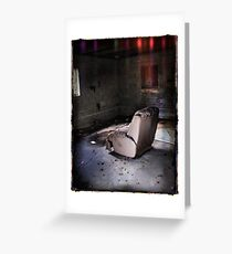 Living Room Recliner Greeting Card