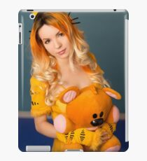 Garfield and Pooky iPad Case/Skin