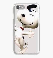 Snoopy, peanut, happy dog,  iPhone Case/Skin