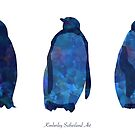 The Penguins by sutherlandart
