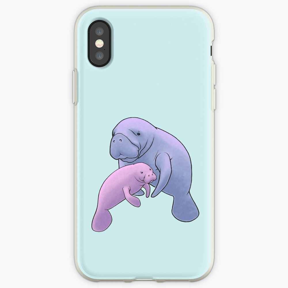 Manatee Jamboree Funda y vinilo para iPhone