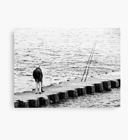 Boys what fish Canvas Print