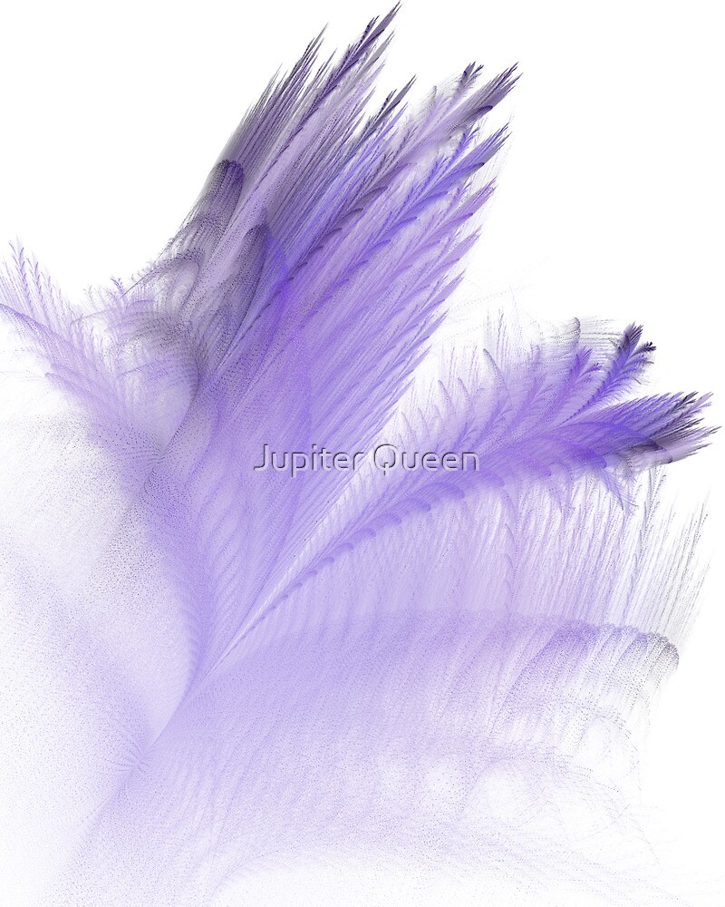 PURPLE FEATHERS by Jupiter Queen