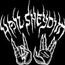 Hail Sheydim - White Ink by hellomagpie