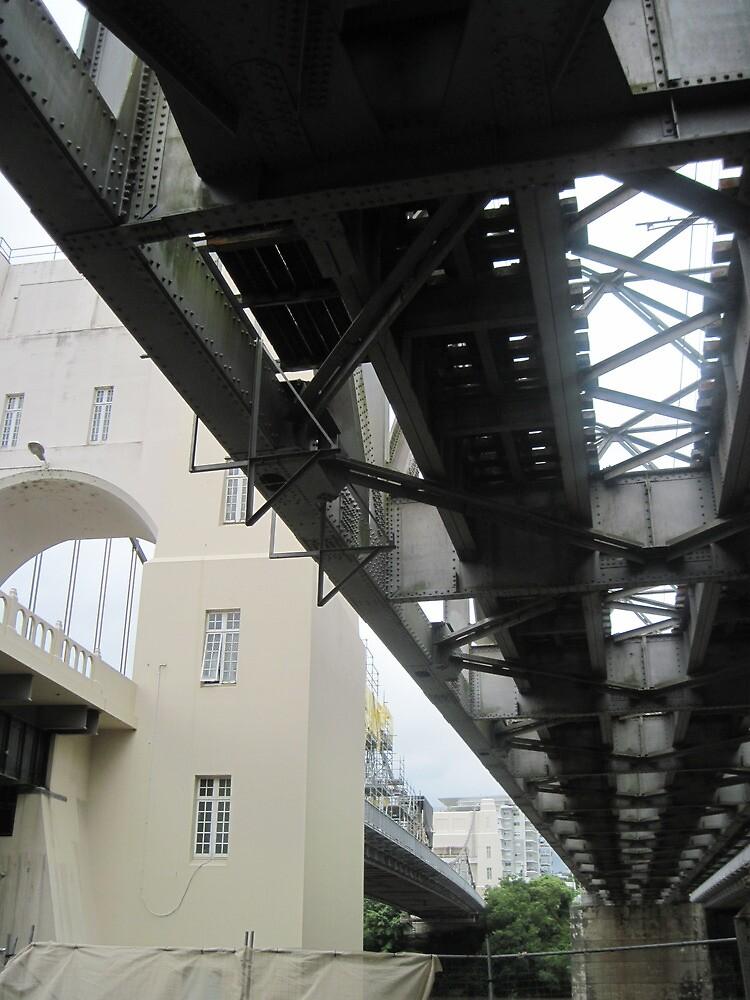 Indooroopilly Bridges III by Hugh Fathers