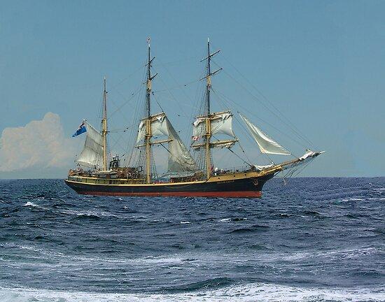 Under Short Sail by George Cousins
