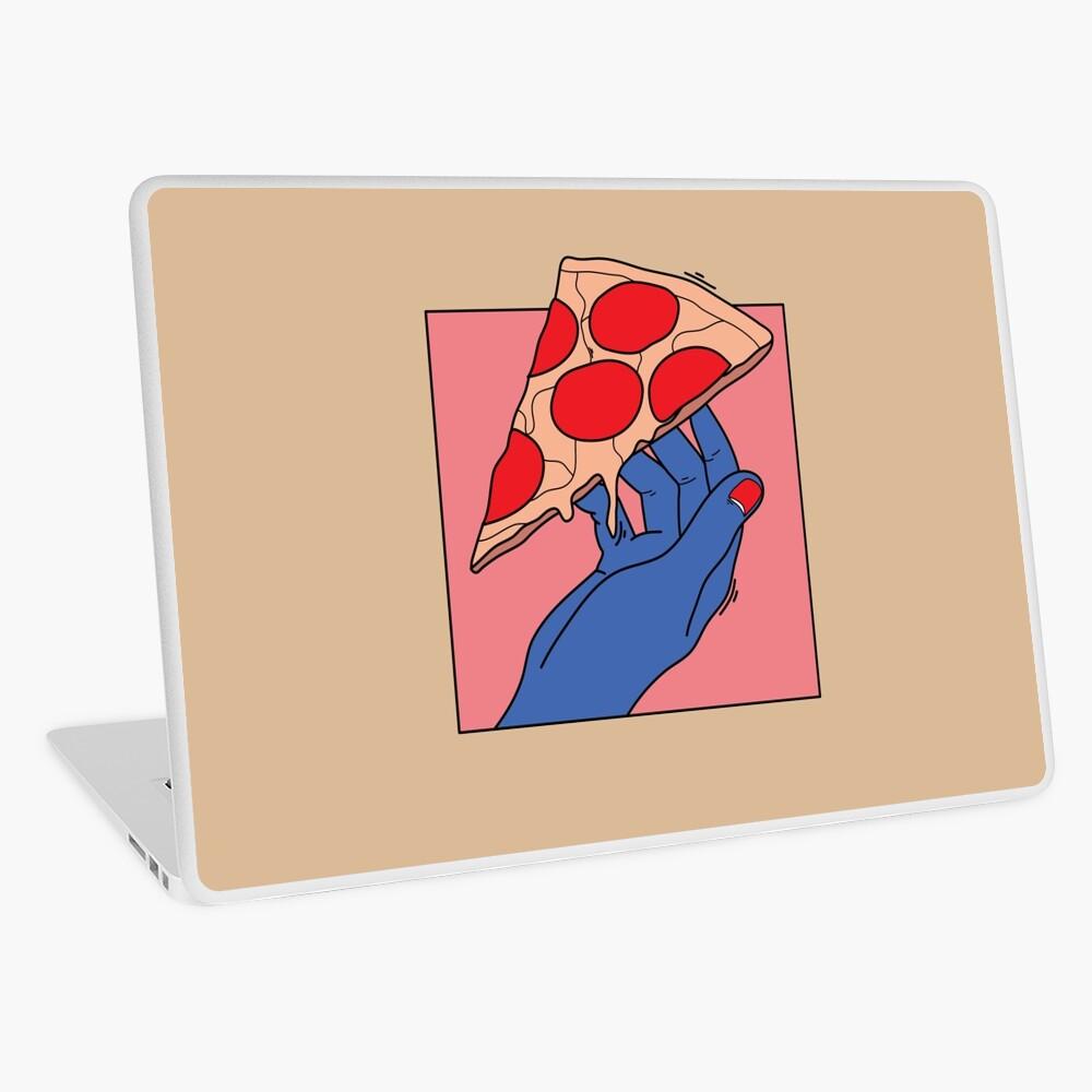 Pizza love Laptop Skin