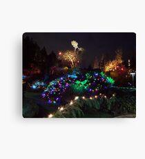 Night In The Sunken Garden (9) Canvas Print