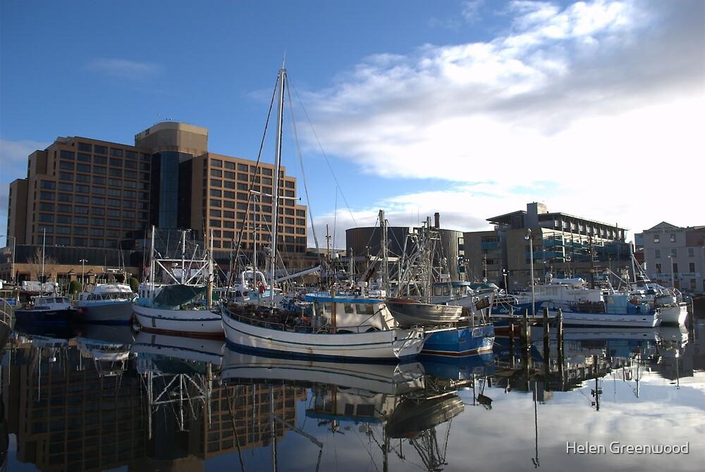 Constitution Dock, Hobart by Helen Greenwood