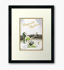 Mocktail Designated Appletini Framed Print
