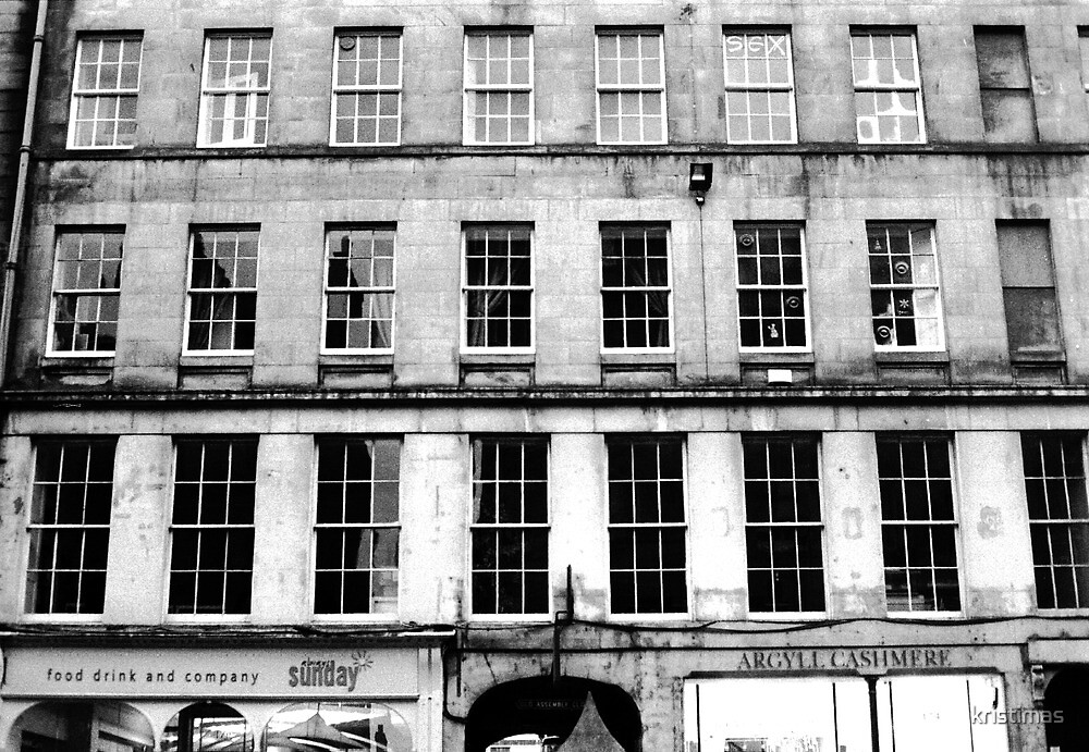 Windows, Edinburgh by kristimas