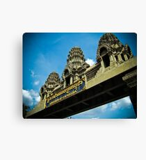 Welcome Sign Canvas Print