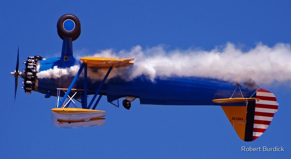 """Smoking Inverted Flyby"" by Robert Burdick"