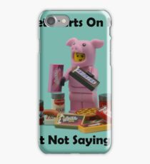 The Diet Starts On Monday iPhone Case/Skin