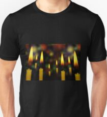 Yellow Candles 2 Unisex T-Shirt