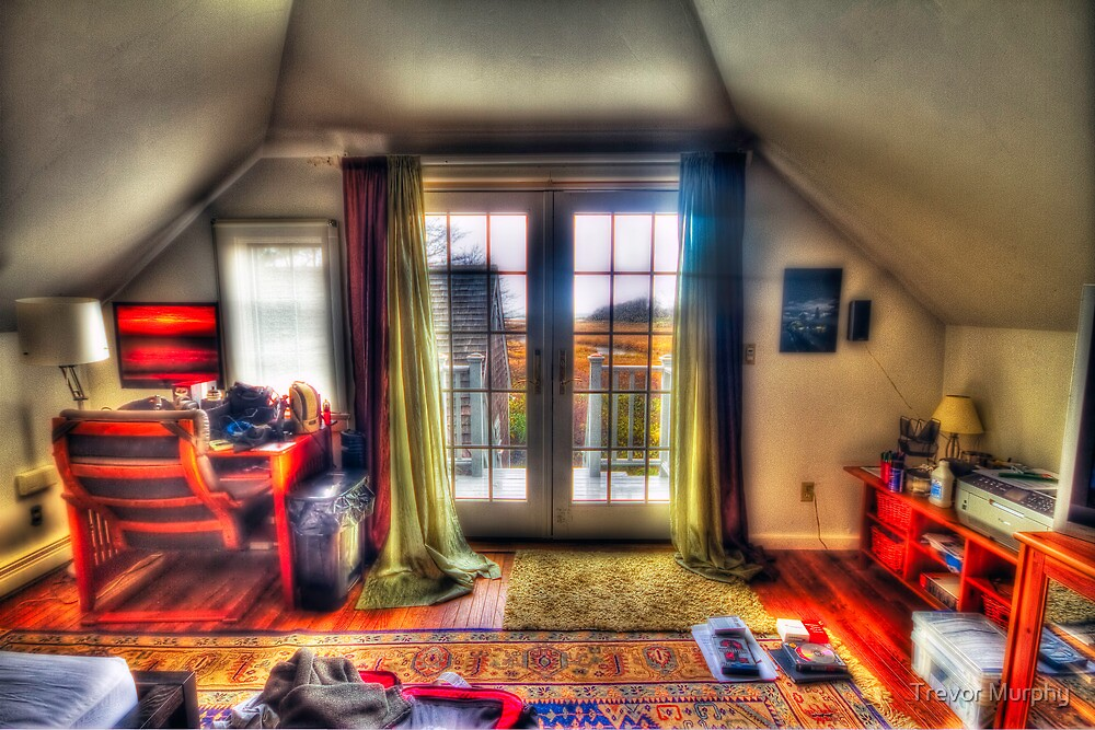 Cloudy HDR on Cape Cod by Trevor Murphy