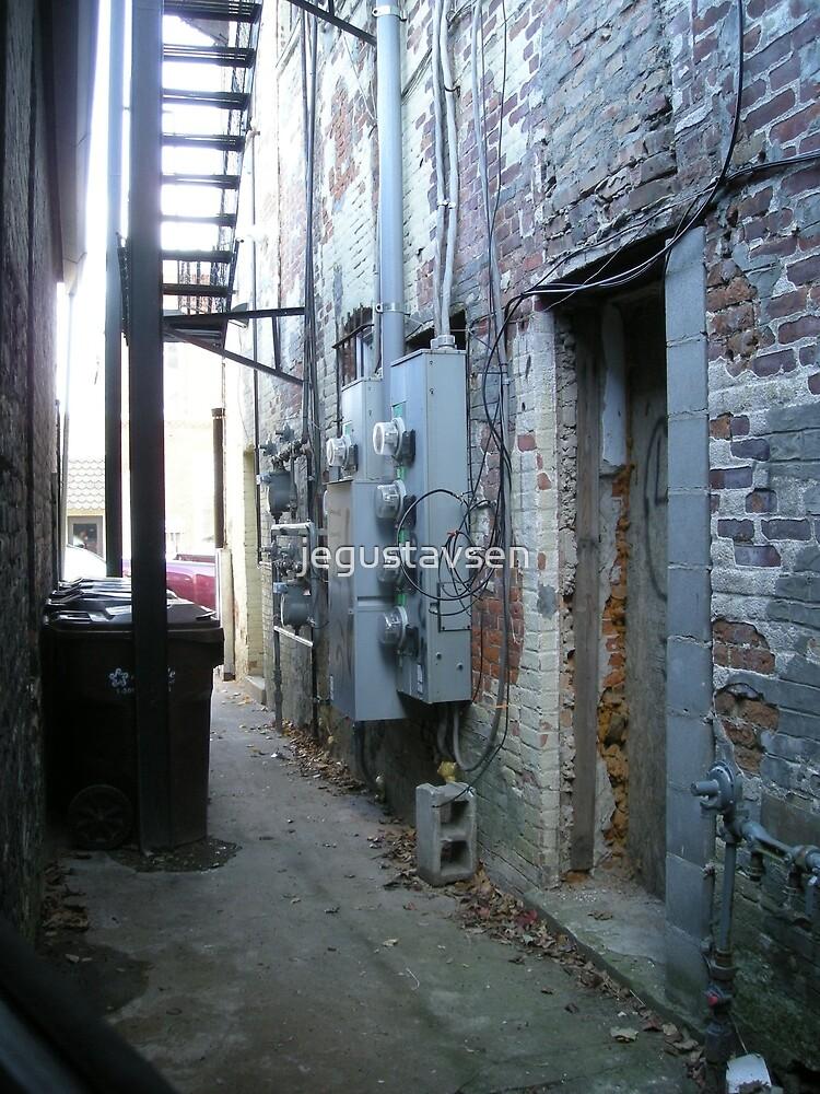 The Alley by jegustavsen