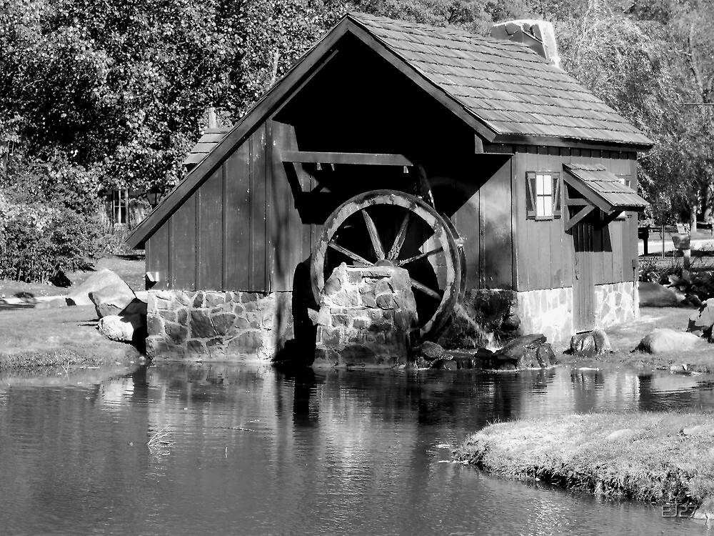 Old Mill Pond by EJ27