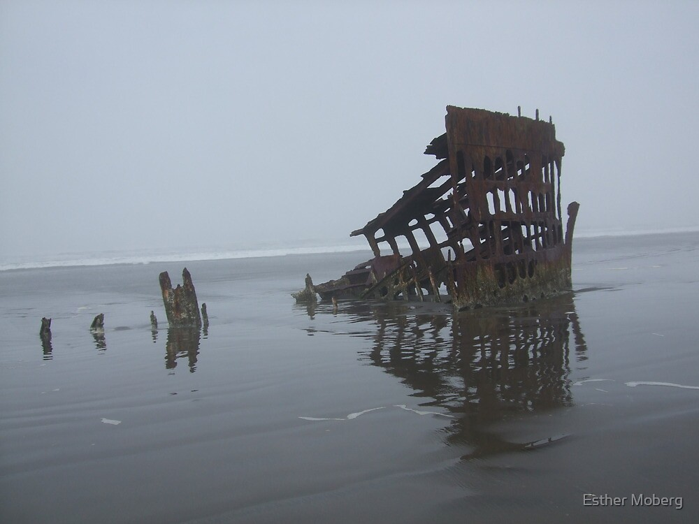 Peter Iredale by Esther Moberg