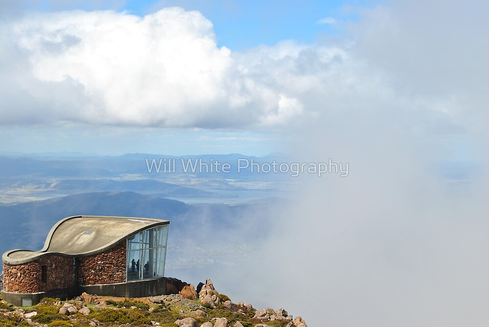 Top of Mt Wellington by Will White Photography