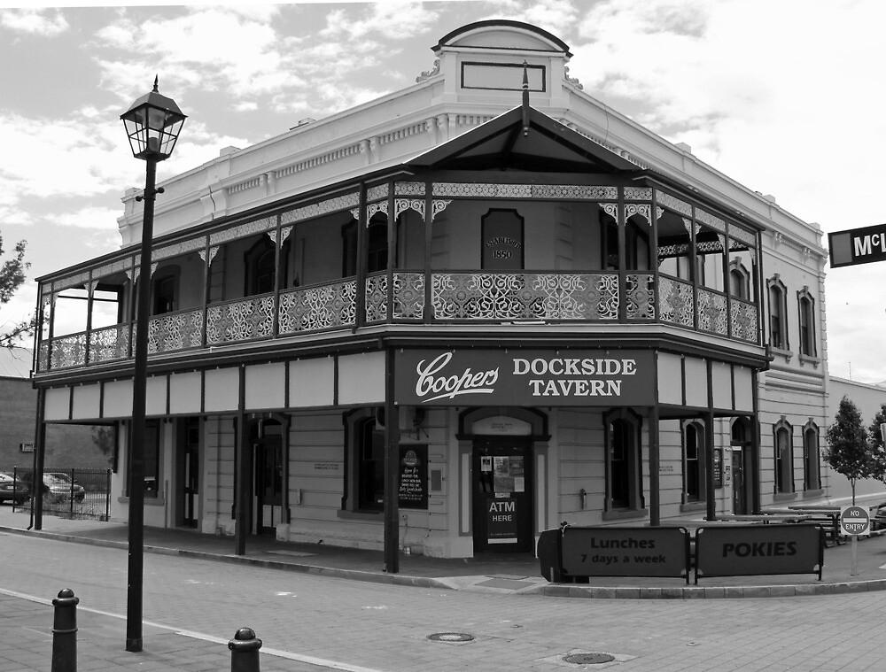 Dockside Tavern, Port Adelaide, South Australia by Ian Williams