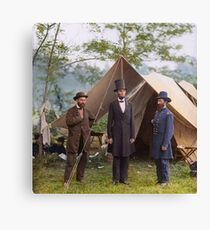Abraham Lincoln during Civil War Canvas Print