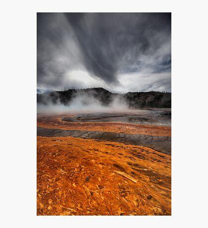 Towards Turquoise Photographic Print