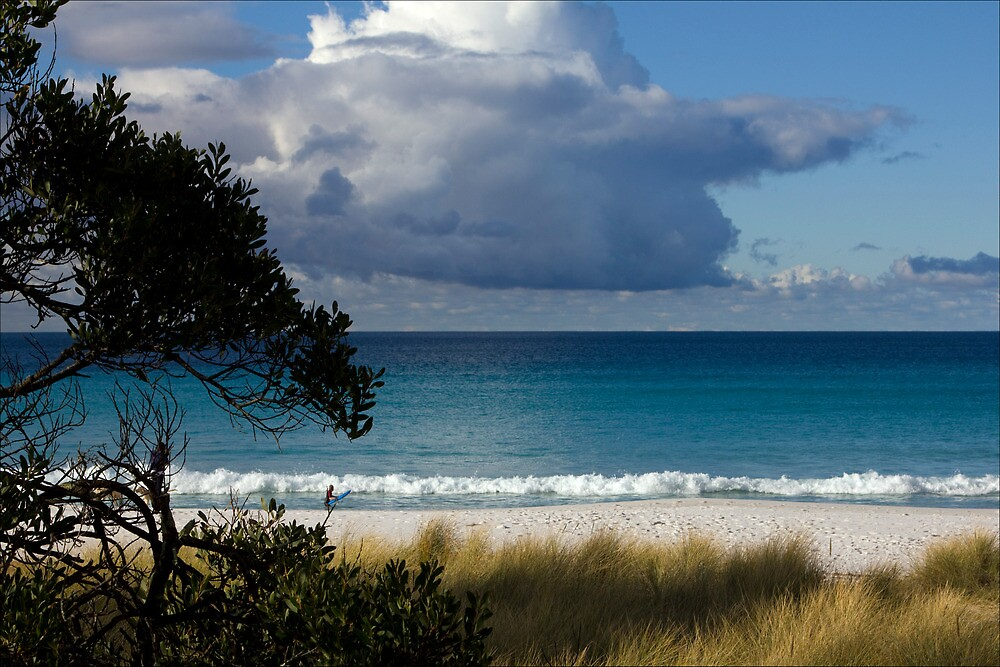 Turquoise seas, Bay of Fires, Tasmania by pfleur