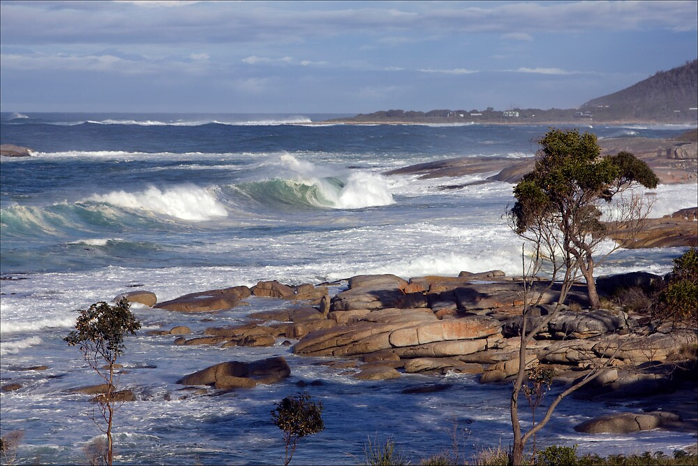 After the storm, Bicheno, Tasmania by pfleur