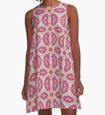 Pink Psychedelic A-Line Dress