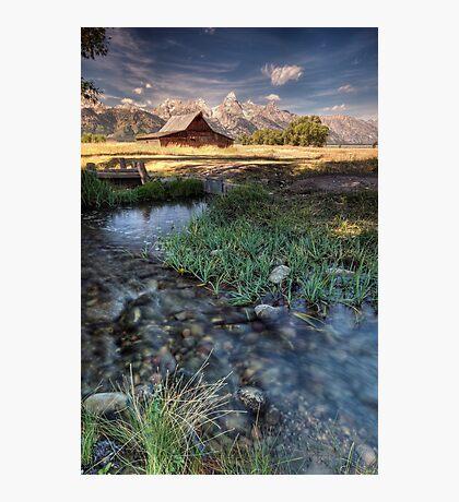 Mormon Row Photographic Print