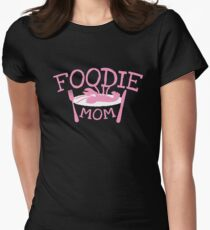 FOODIE MOM with a lobster on a plate T-Shirt