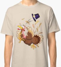 Funny Turkey escape Thanksgiving Character Classic T-Shirt