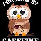 Caffeine Owl Coffee Lover von mjacobp