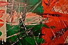 Small Abstract Painting by Scott Johnson