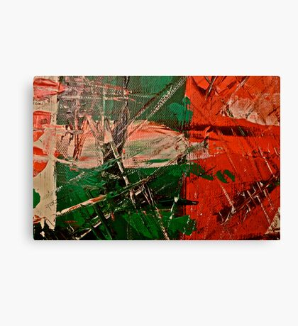 Small Abstract Painting Canvas Print