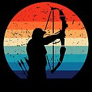Vintage Archery Bow Hunting von mjacobp