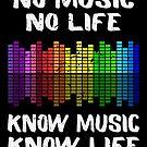 No Music No Life Music Lover von mjacobp